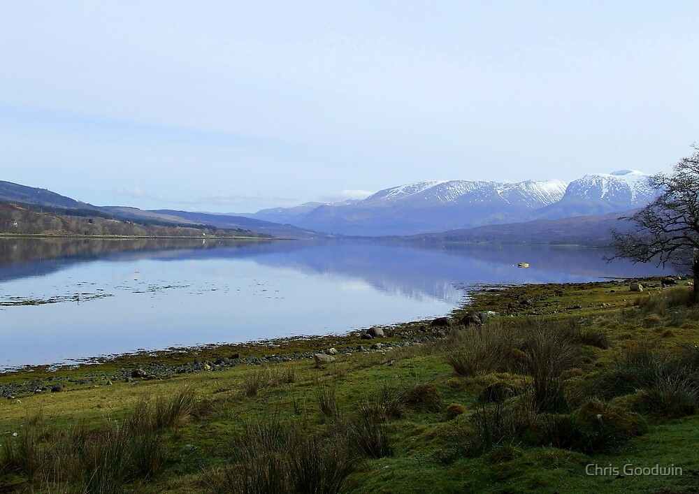 Calm Water - Scotland by Chris Goodwin