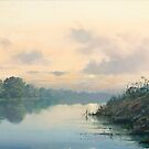 Thames near Dorchester by Richard Picton