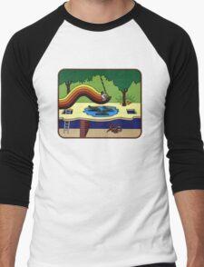Atari Activision Pitfall Harry Men's Baseball ¾ T-Shirt
