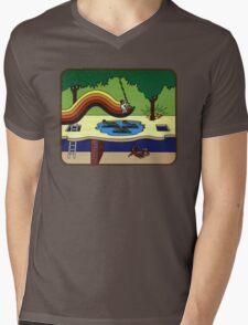 Atari Activision Pitfall Harry Mens V-Neck T-Shirt