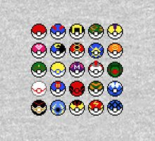 Pokeballs - pixel art Unisex T-Shirt
