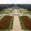 Gardens of Vaux le Vicomte, nr Melun, France by BronReid