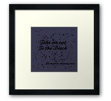 The Black Framed Print