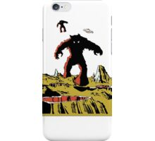 Space Invaders Moon Crater Monster iPhone Case/Skin