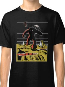 Space Invaders Moon Crater Monster Classic T-Shirt