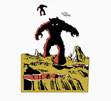 Space Invaders Moon Crater Monster T-Shirt