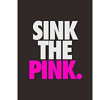 SINK THE PINK. Photographic Print