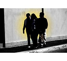 Three's a crowd... Photographic Print