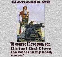 The Sacrifice of Isaac, Genesis 22:1-24 Unisex T-Shirt