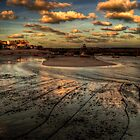 Harbour & Beach of St Ives by Rob Hawkins