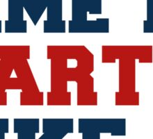 Time To Party Like A Patriot Sticker