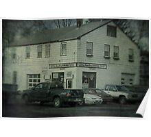 Gunn Bros. Garage Poster