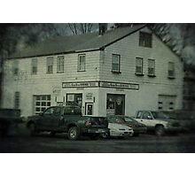 Gunn Bros. Garage Photographic Print