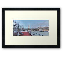 PARIS_View 087 Framed Print