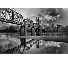 Old Rail Road Bridge Photographic Print