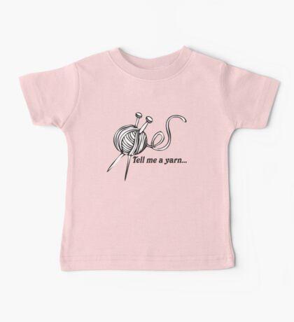Tell Me A Yarn Baby Tee