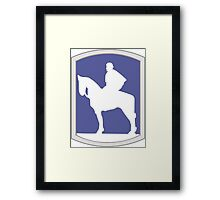116th Infantry Brigade Combat Team 'Stonewall' (United States) Framed Print
