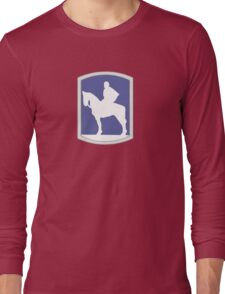 116th Infantry Brigade Combat Team 'Stonewall' (United States) Long Sleeve T-Shirt