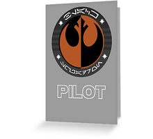 Star Wars Episode VII - Black Squadron (Resistance) - Star Wars Veteran Series Greeting Card