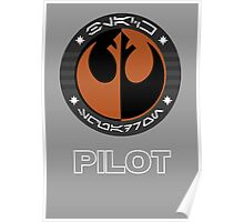Star Wars Episode VII - Black Squadron (Resistance) - Star Wars Veteran Series Poster
