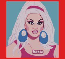 Manila Luzon Rupaul's Drag Race One Piece - Short Sleeve