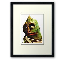 Land Of The Lost Sleestak T-Shirt Framed Print