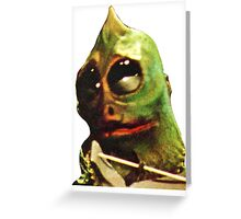 Land Of The Lost Sleestak T-Shirt Greeting Card