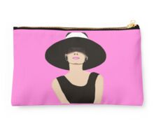 Audrey Hepburn Breakfast at Tiffanys Studio Pouch