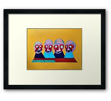 Serfdom Framed Print