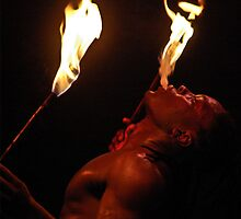 Fire Eater by faceart