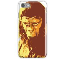 Planet Of The Apes T-Shirt iPhone Case/Skin