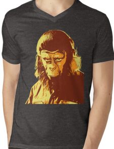 Planet Of The Apes T-Shirt Mens V-Neck T-Shirt