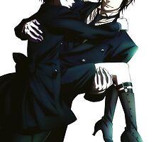 Black Butler - Sebastian and Ciel by Dreamily