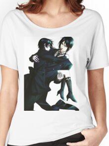 Black Butler - Sebastian and Ciel Women's Relaxed Fit T-Shirt