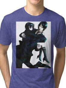 Black Butler - Sebastian and Ciel Tri-blend T-Shirt