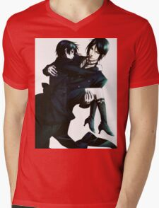Black Butler - Sebastian and Ciel Mens V-Neck T-Shirt