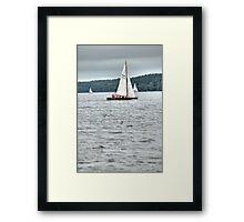 YachtX Framed Print