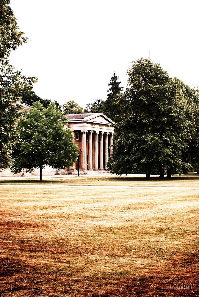 Downing College, Cambridge by babibell