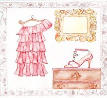 Just Frills by Evawatercolours