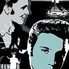 Elvis Presley by celebrityart
