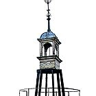 Bristol Harbourside - Weathervane  by Sue Porter