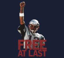 Tom Brady: Free At Last! Kids Clothes