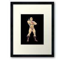 Masters Of The Universe He Man Framed Print