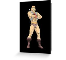 Masters Of The Universe He Man Greeting Card