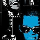 Ray Charles by celebrityart