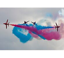 RAF Red Arrows Display Team Photographic Print