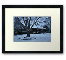 Christmas Morning in East Tn Framed Print