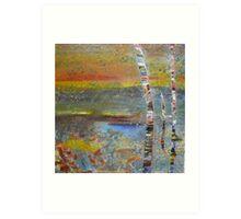 Glimpse of Mundaring Weir Art Print