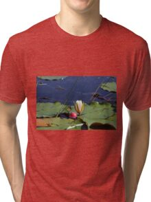 A Lily and Bobber Tri-blend T-Shirt