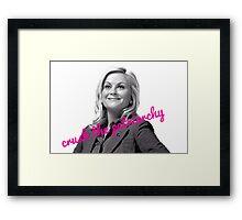 Leslie Knope Feminist Framed Print